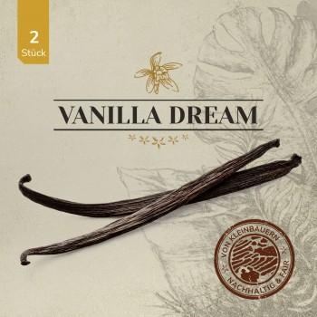 VANILLA DREAM Gourmet Vanilleschoten 2 Stück