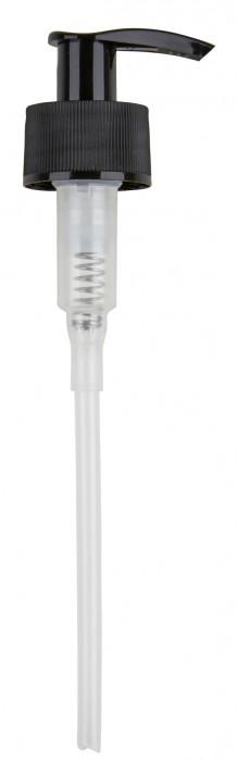 Schwarze Dispenser-Pumpe für 500ml ZERO WASTE Flaschen