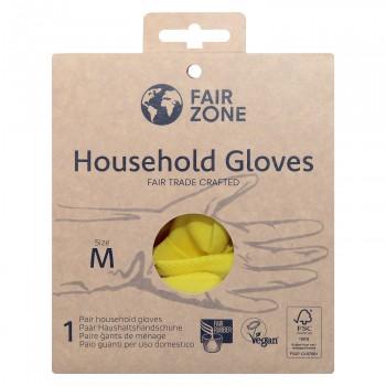 FairZone Paar Handschuhe Gelb - Grösse M