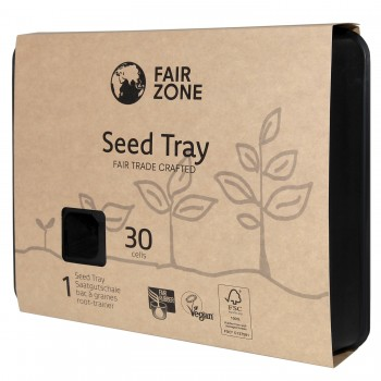 FairZone Saatgutschale schwarz