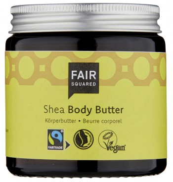 Fair Squared Body Butter Shea 100ml (zero waste)