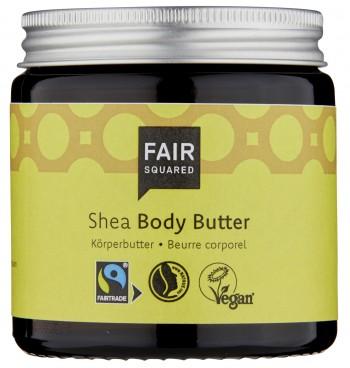 Fair Squared Body Butter Shea 100ml (zero waste)
