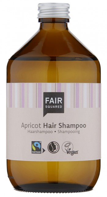 FAIR SQUARED Shampoo Apricot 500ml ZERO WASTE