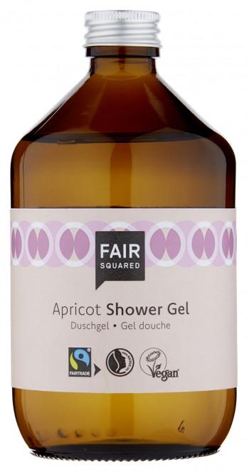 FAIR SQUARED Shower Gel Apricot 500ml ZERO WASTE