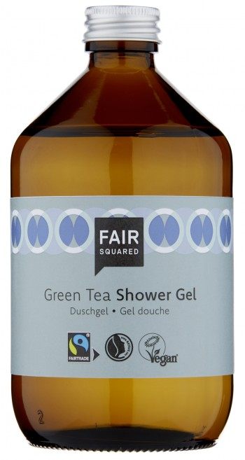 FAIR SQUARED Shower Gel Green Tea 500ml ZERO WASTE