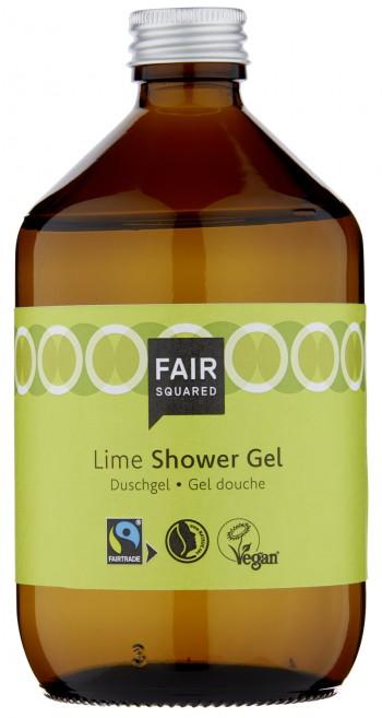 FAIR SQUARED Shower Gel Lime 500ml ZERO WASTE