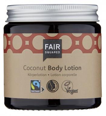 FAIR SQUARED Body Lotion Coconut 100ml (zero waste)