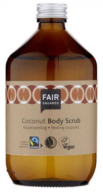 FAIR SQUARED Body Scrub Coconut 500ml ZERO WASTE