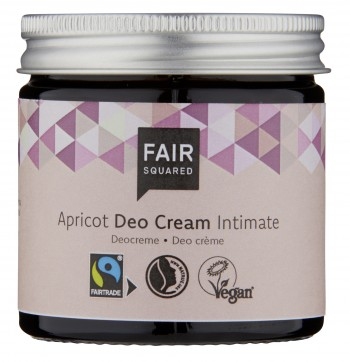 FAIR SQUARED Intimate Deo Cream Apricot 50ml ZERO WASTE