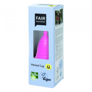 Fair Squared Period Cup Size M - pink
