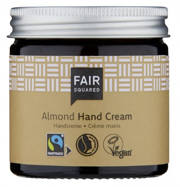 Fair Squared Hand Cream Sensitive Almond 50ml ZERO WASTE