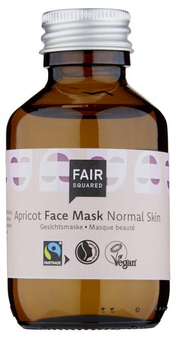 FAIR SQUARED Facial Mask Fluid - Normal Skin Apricot 100ml ZERO WASTE