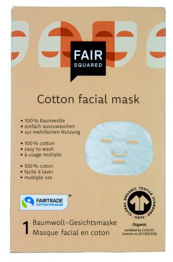 FAIR SQUARED Baumwoll Gesichtsmaske