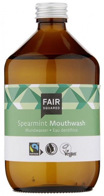FAIR SQUARED Mundwasser Spearmint 500ml ZERO WASTE