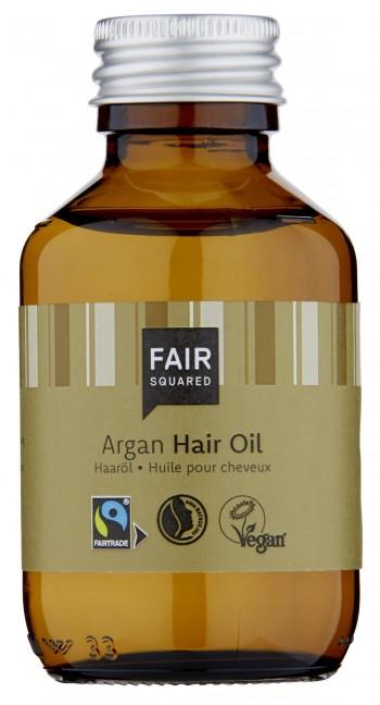 FAIR SQUARED Hair Care Oil Argan 100ml ZERO WASTE