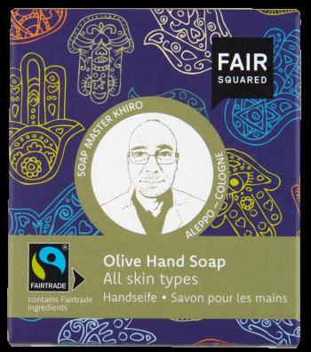 FAIR SQUARED Handsoap Fatima Olive 2x80gr.