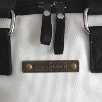 MARGELISCH Minu 1 Canvas Rucksack black/white