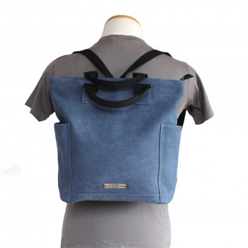 MARGELISCH Tacha 1 Canvas Rucksack denim