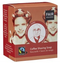 FAIR SQUARED Rasurseife Coffee - 2x80gr.