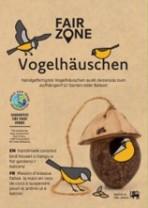 FAIR ZONE Vogelhaus Kokosnuss