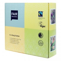 Fair Squared Body Butter Set 4 x 50ml