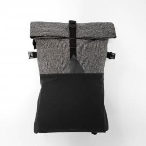 HOLYFANCY Flatpack 18L schwarz/weiss
