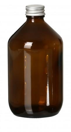 Glasflasche Braunglas leer 500ml
