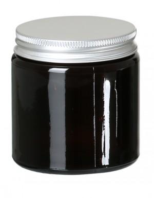 Glastiegel Braunglas leer 120ml
