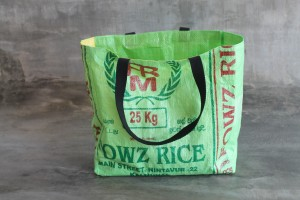 FAIR ZONE Rice&Carry Einkaufstasche L