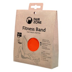 FairZone Fitnessband rot - 0.20mm / 1.5m