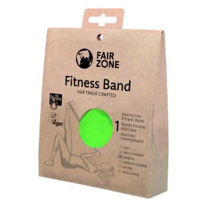 FairZone Fitnessband grün - 0.25mm / 1.5m