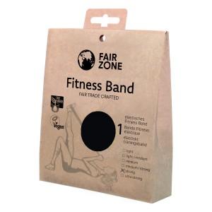 FairZone Fitnessband schwarz - 0.35mm / 1.5m