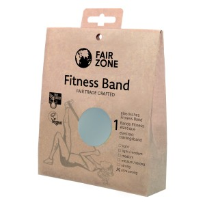 FairZone Fitnessband silber - 0.46mm / 1.5m