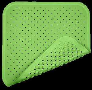 "FAIR ZONE Duschmatte ""Fresh Green"" 56x56cm"