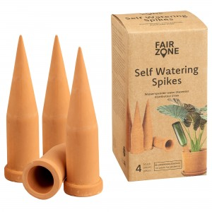 """FAIR ZONE Self Watering Pots """"Hydro Spikes"""" 4er"""