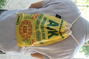 FAIR ZONE Rice&Carry Turnbeutel