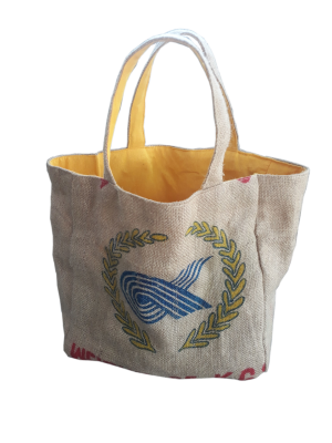 RICE & CARRY Jute - Strandtasche / Tote
