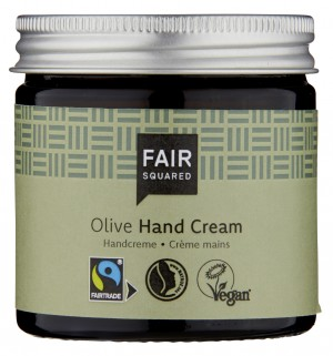 Fair Squared Hand Cream Classic Olive 50ml ZERO WASTE