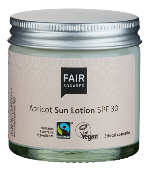 Fair Squared Sun Lotion Apricot 50ml ZERO WASTE