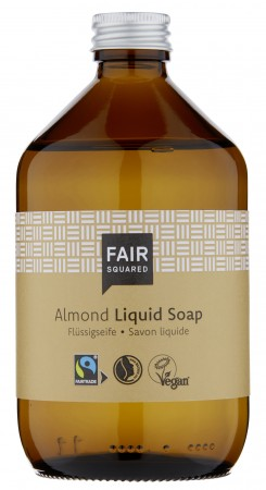 FAIR SQUARED Liquid Soap Almond 500ml ZERO WASTE