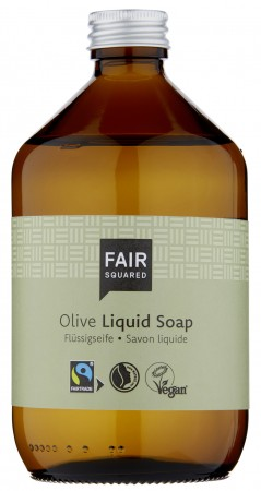 FAIR SQUARED Liquid Soap Olive 500ml ZERO WASTE
