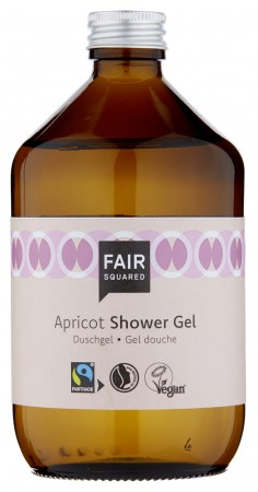 FAIR SQUARED Shower Gel Apricot 500ml ZERO WASTE