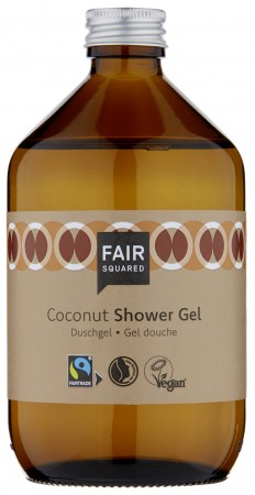 FAIR SQUARED Shower Gel Coconut 500ml ZERO WASTE