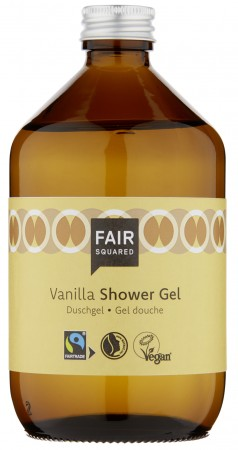 FAIR SQUARED Shower Gel Vanilla 500ml ZERO WASTE