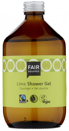 FAIR SQUARED Shower Gel Lime 500ml ZERO WASTE