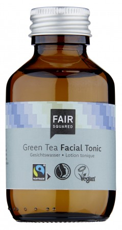 FAIR SQUARED Facial Tonic Green Tea 100ml  ZERO WASTE
