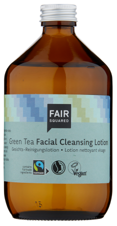 Fair Squared Facial Cleansing Lotion Green Tea 500ml