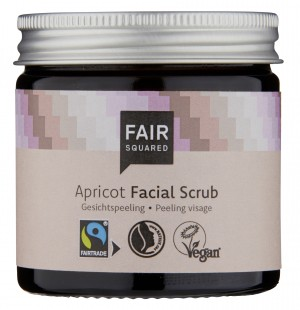 FAIR SQUARED Facial Scrub Apricot 50ml ZERO WASTE