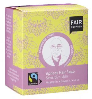 FAIR SQUARED Haarseife Aprikose für sensible Haut - 2x80gr.