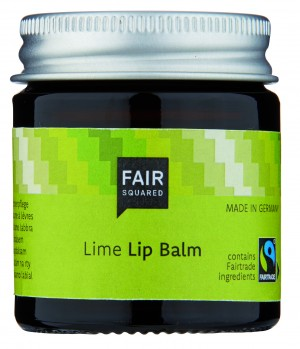 FAIR SQUARED Lip Balm Lime 20gr. ZERO WASTE